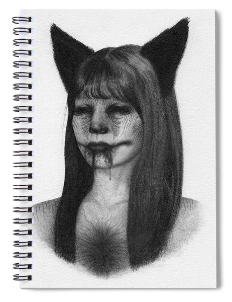 Portrait Of A Kumiho - Artwork Spiral Notebook