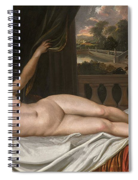 Portrait Of Elizabeth Trentham, Viscountess Cullen, As Venus Spiral Notebook
