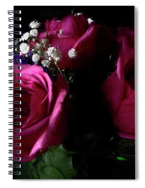 Portrait Of Roses Spiral Notebook
