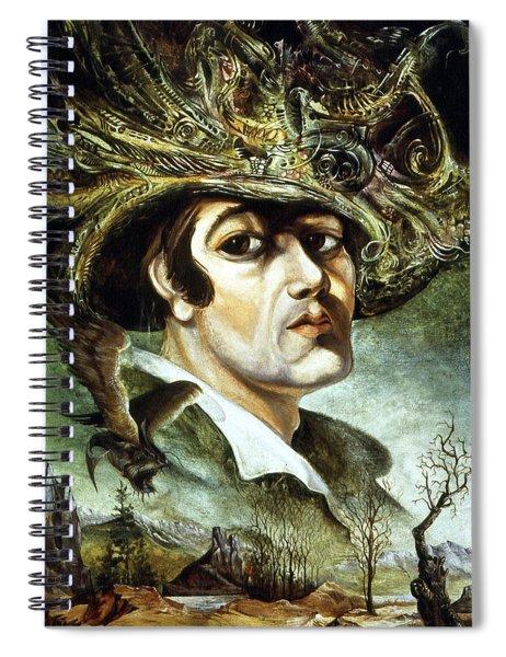 Portrait Of Young Bogomil Spiral Notebook