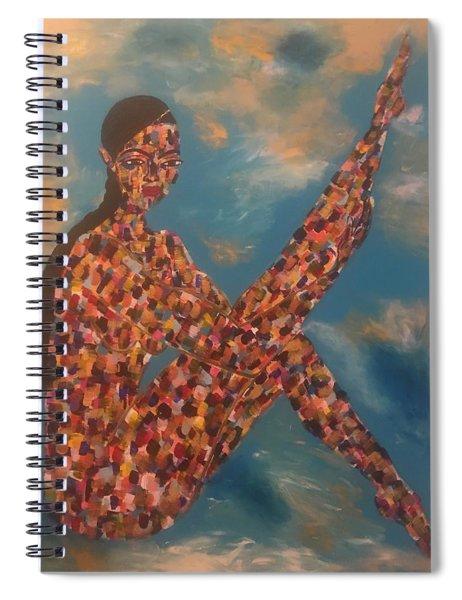 Pose II Spiral Notebook