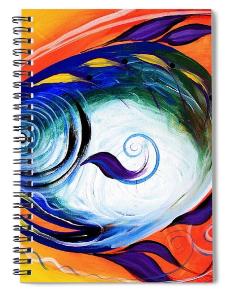 Positive Fish Spiral Notebook