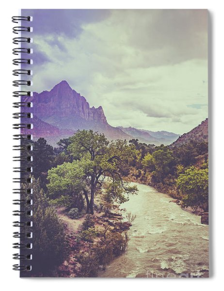 Postcard Image Spiral Notebook
