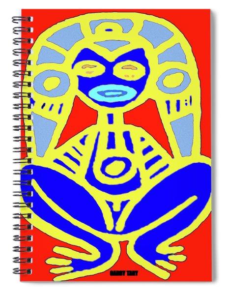 Pourto Rican Native Art Spiral Notebook