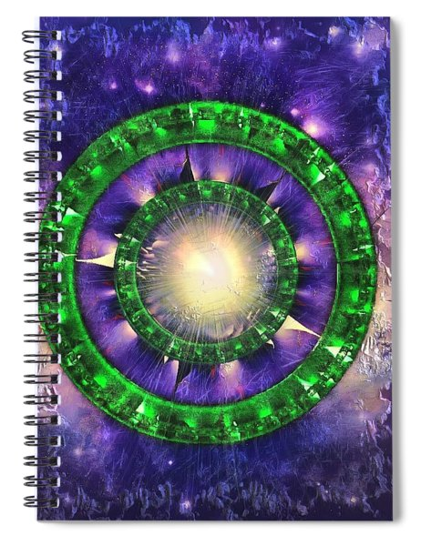 Power Surge Spiral Notebook by Mario Carini