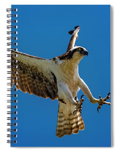 Powerful Landing Spiral Notebook