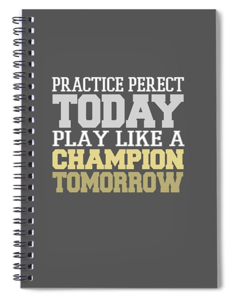 Practice Perfect Spiral Notebook
