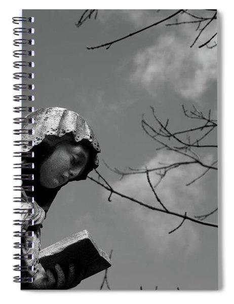Prayer Spiral Notebook by Edward Lee