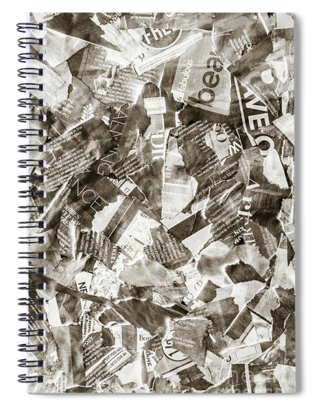 Press Print Parchment Spiral Notebook