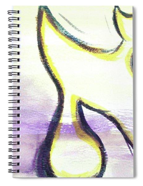 Pretty Aleph A15 Spiral Notebook