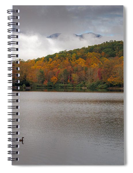Price Lake Autumn - Grandfather Mountain - Blue Ridge Parkway Spiral Notebook