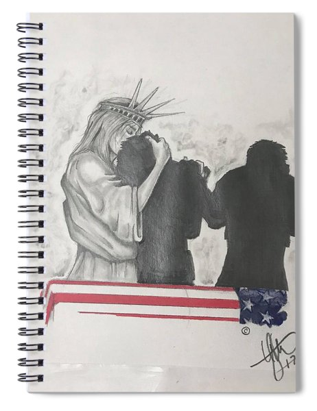 Price Of Liberty Spiral Notebook