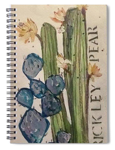 Prickley Pear Spiral Notebook
