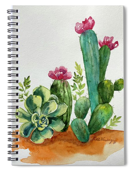 Prickly Cactus Spiral Notebook