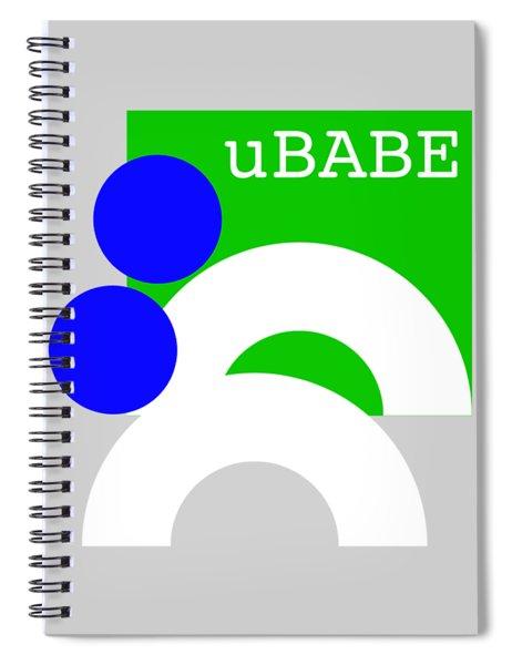 Primitive Pastoral Spiral Notebook