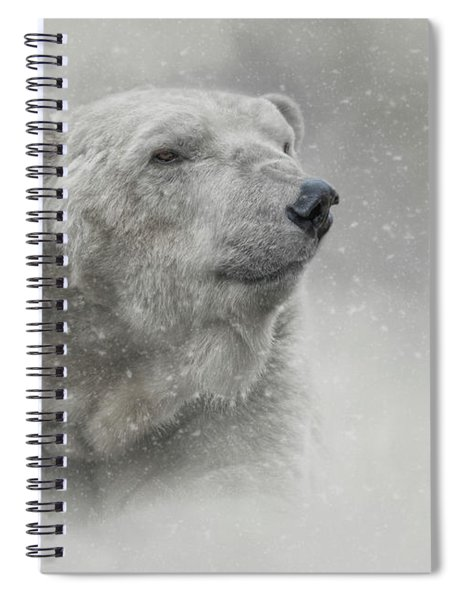 Prince Of The North Pole Spiral Notebook