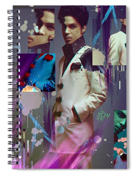 Prince X Mase Spiral Notebook