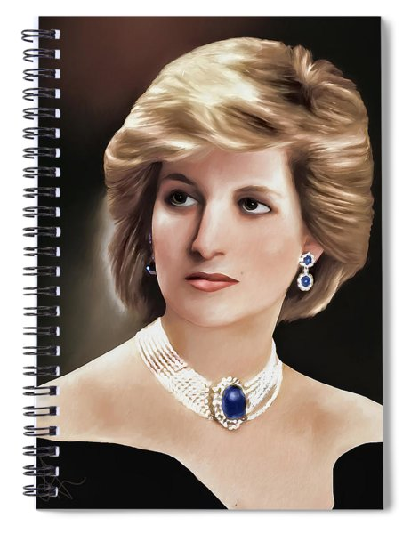 Princess Diana Spiral Notebook