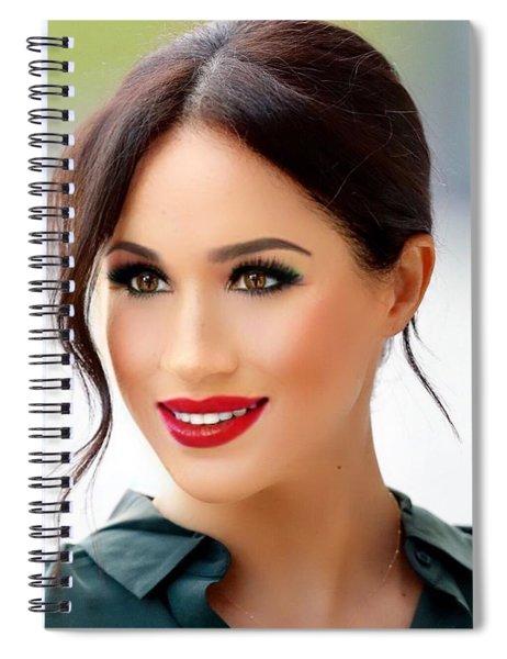 Princess Meghan Spiral Notebook