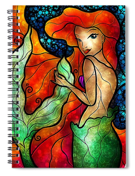 Princess Of The Seas Spiral Notebook