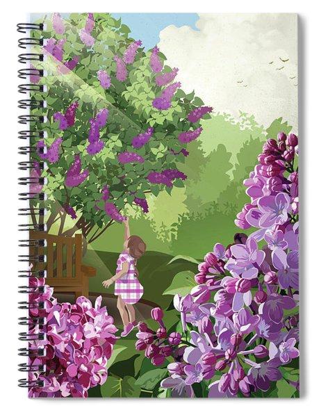 Print Spiral Notebook