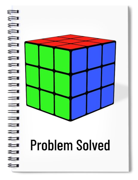 Problem Solved Spiral Notebook