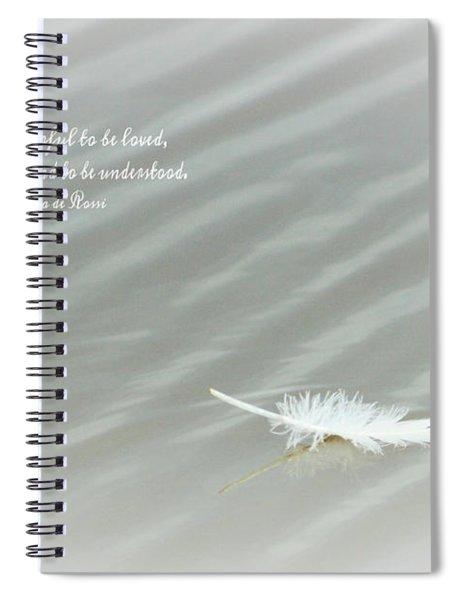 Profound Understanding II Spiral Notebook