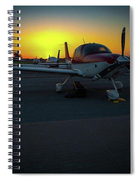 Props At Dawn Spiral Notebook
