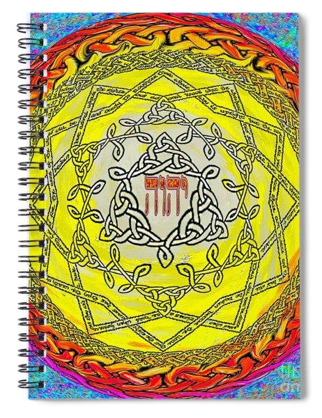 Psalm 37 Spiral Notebook