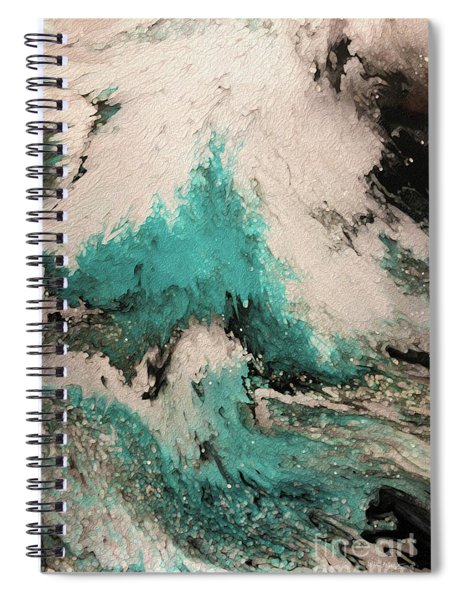 Psalm 59 16. I Will Sing Of Your Power Spiral Notebook