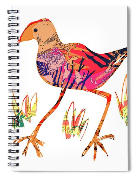 Pukeko Art Spiral Notebook