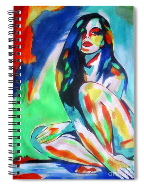 Pulsating Feelings Spiral Notebook
