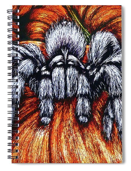 Pumpkin Patch Nightmare Spiral Notebook