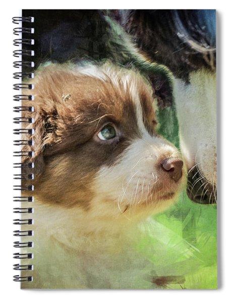 Puppy Dog Spiral Notebook
