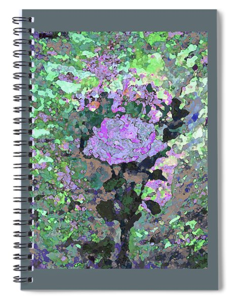 Purple Flower 1001 Spiral Notebook