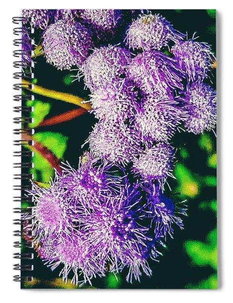 Purple Fur Spiral Notebook