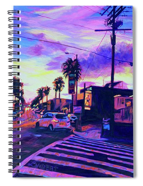 Purple Haze Spiral Notebook
