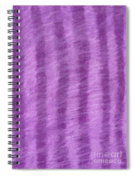 Purple Hazy Nights Spiral Notebook