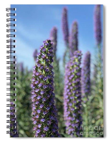 Purple Hyssop  Spiral Notebook