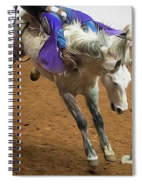 Purple Rein Spiral Notebook