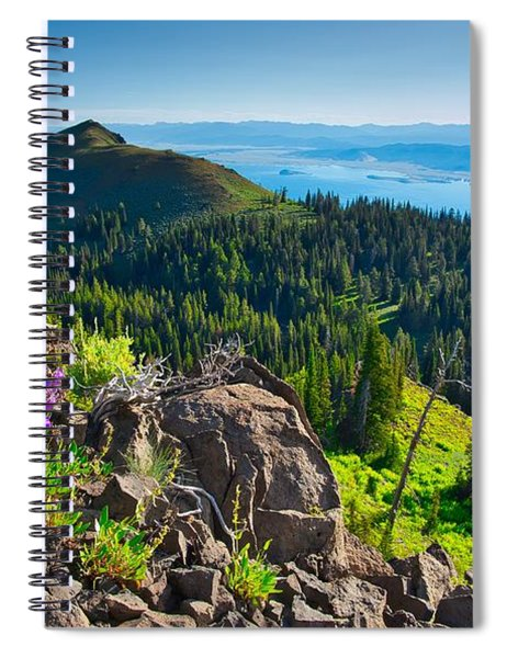 Purple Vista Spiral Notebook