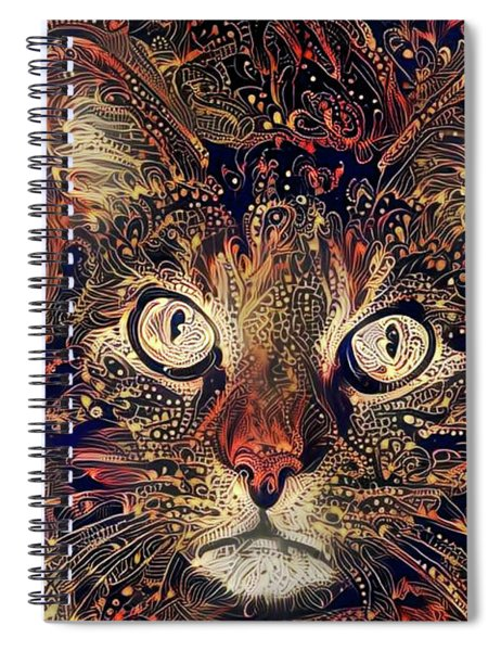 Mystic In Paisley Spiral Notebook