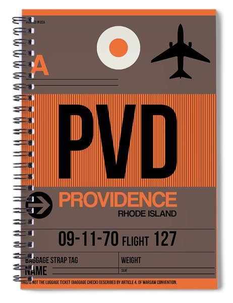 Pvd Providence Luggage Tag I Spiral Notebook