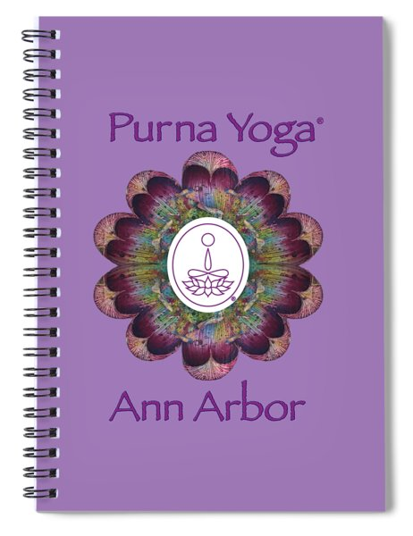 Pyaa White Spiral Notebook