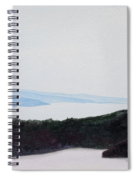 Quabbin Looking North Spiral Notebook
