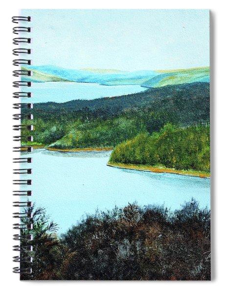 Quabbin Northwest Spiral Notebook
