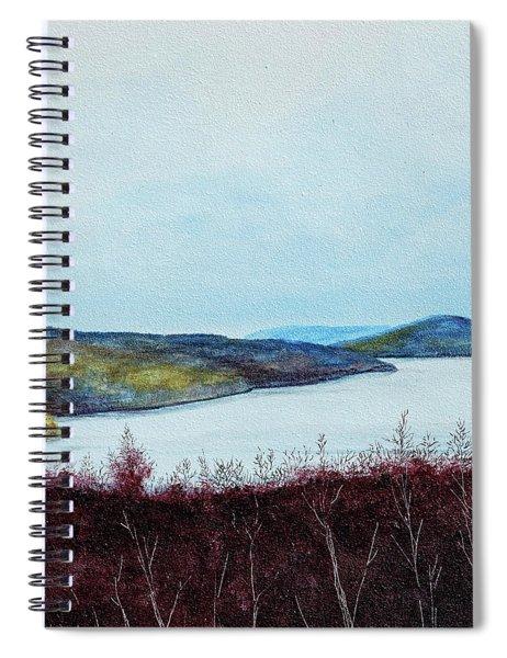 Quabbin Reservoir Spiral Notebook