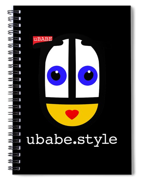 Queen Of Style Spiral Notebook