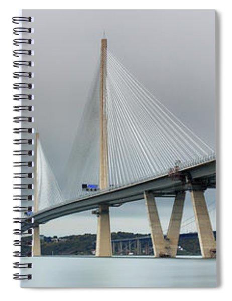 Queensferry Crossing Bridge 3-1 Spiral Notebook