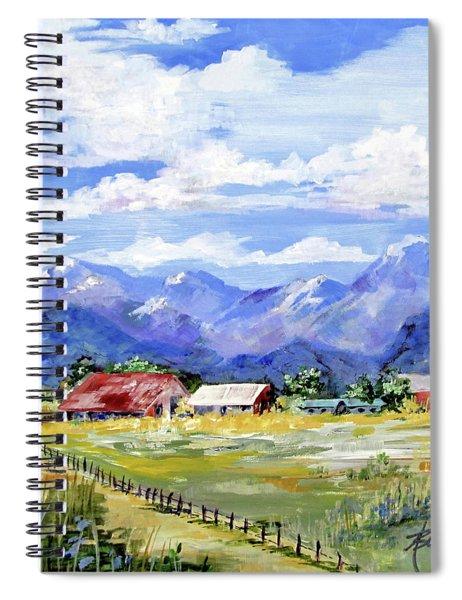 Quiet Afternoon In The Sangre De Cristos Spiral Notebook